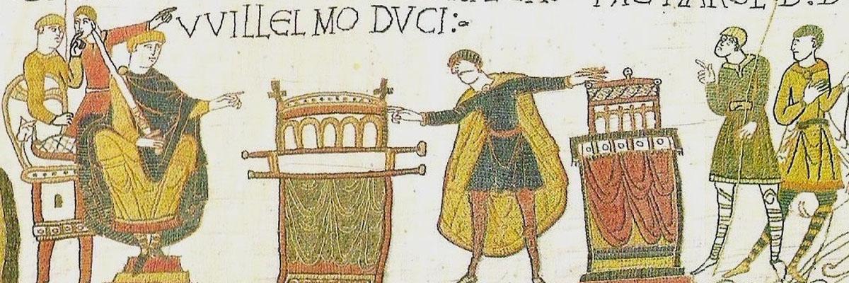 Guglielmo Duca di Normandia Arazzo di Bayeux